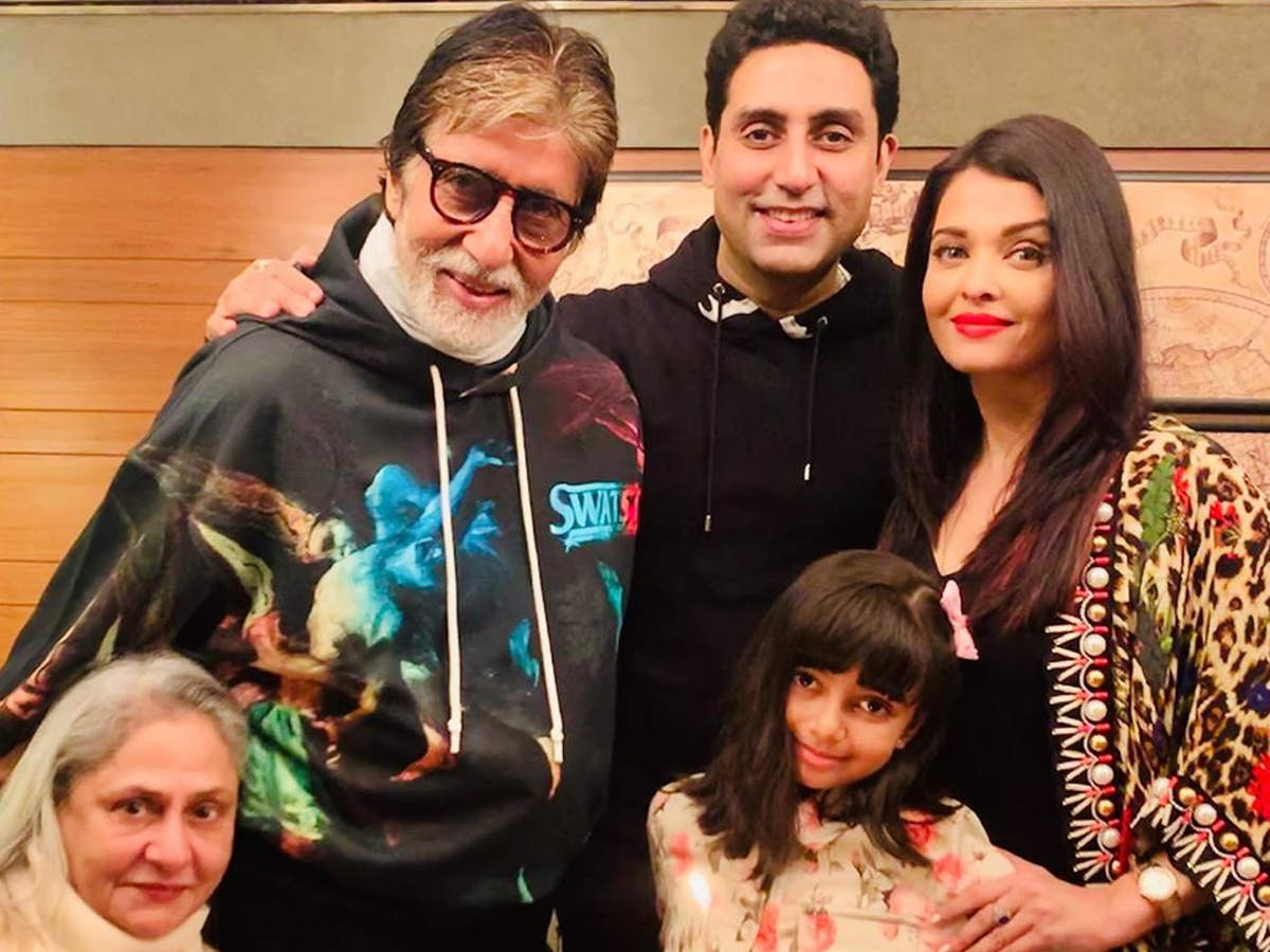 Amitabh Bachchan, Abhishek, Aishwarya Rai Bachchan and Aaradhya test  positive for Covid-19: Timeline of their road to recovery | The Times of  India
