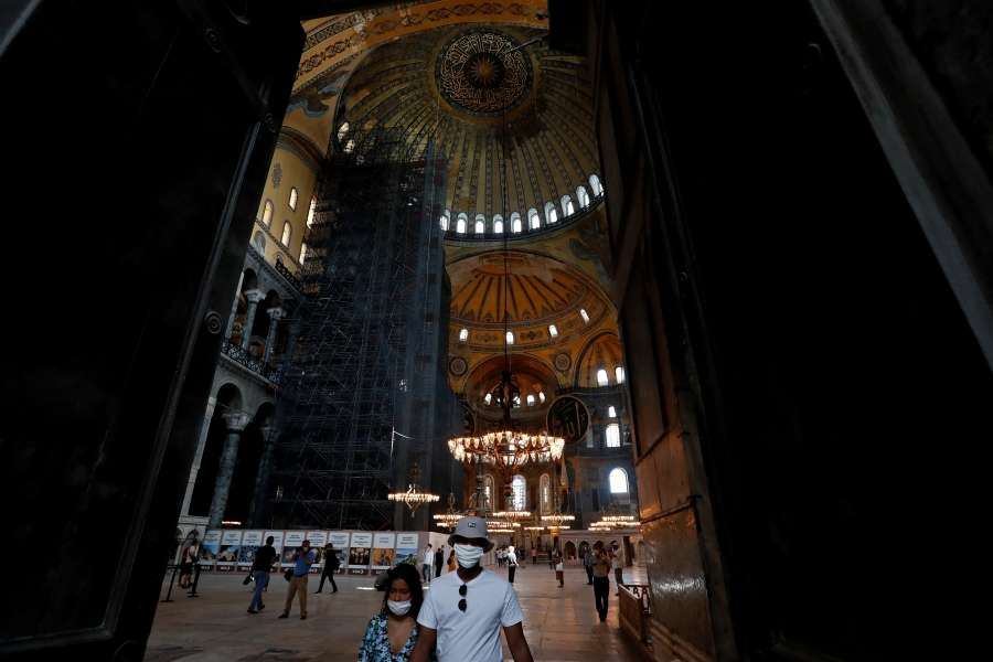 Turkey turns iconic Hagia Sophia museum into mosque
