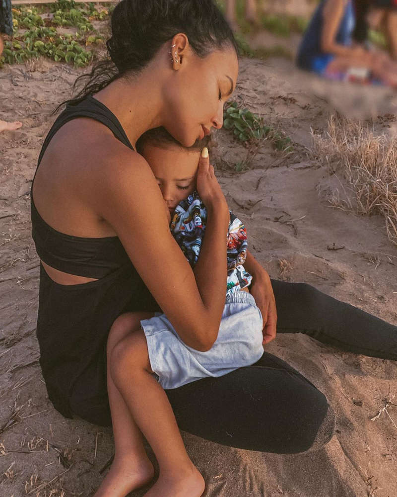 'Glee' star Naya Rivera did a heroic act before dying; saved son before drowning