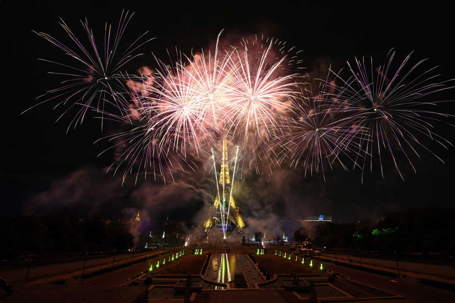 France: Spectacular pictures from Bastille Day celebrations