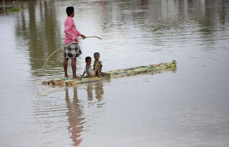 Deadly floods leave a trail of destruction in Assam