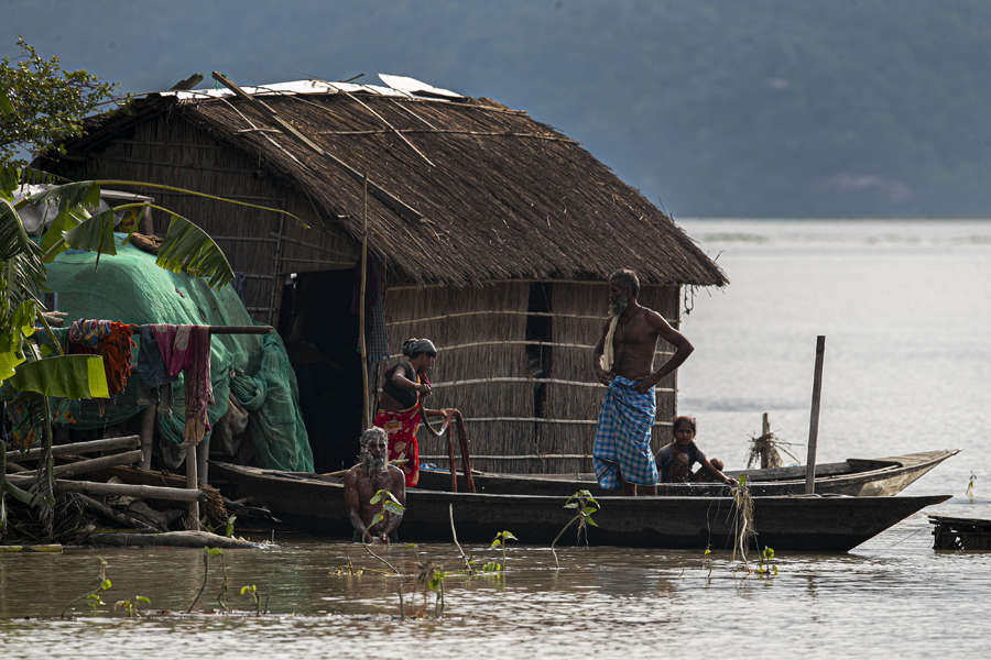 Flood: These pictures show the devastation in Assam