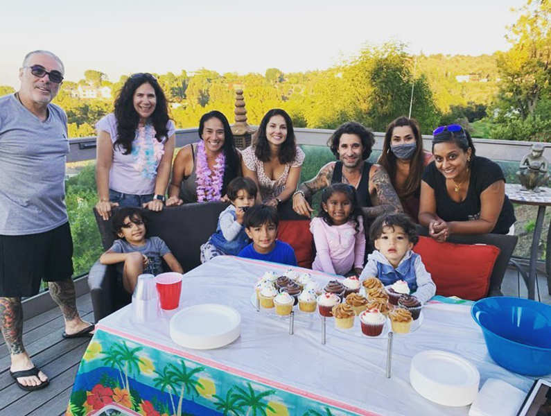 Pictures from Sunny Leone's daughter Nisha's 'Gotcha Day' celebration