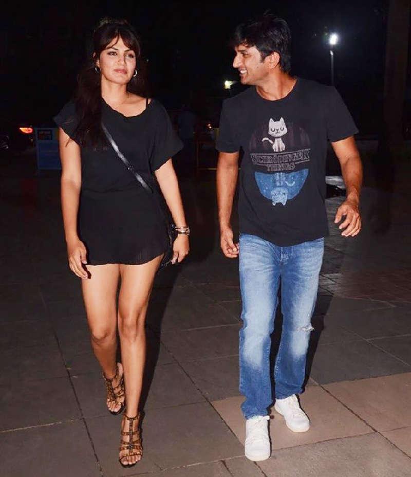 Fans accuse late Sushant Singh Rajput's GF Rhea Chakraborty of 'hiding evidence'