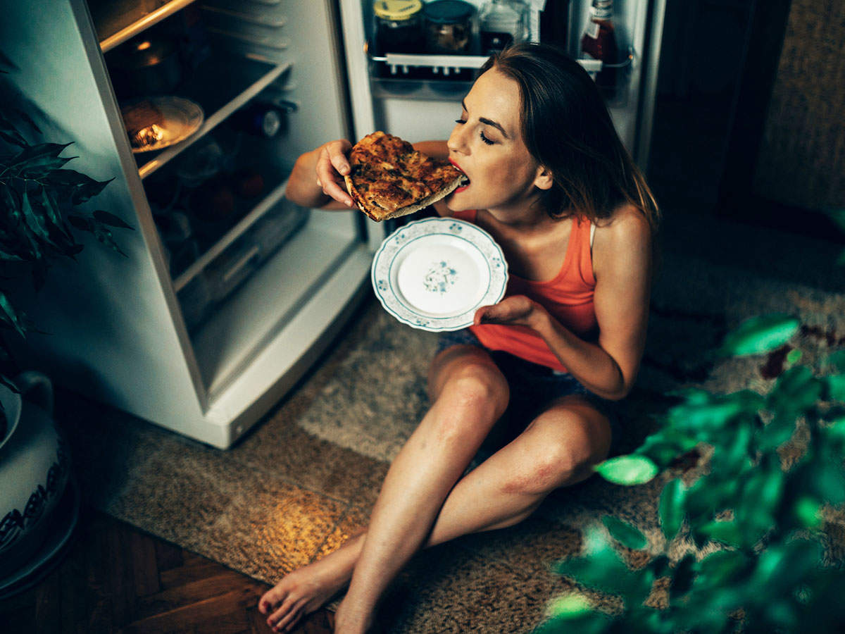 Why eating late at night is bad for you? | The Times of India