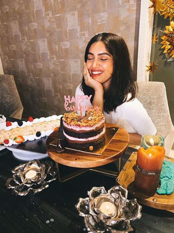 Actress Bhumi Pednekar shares pictures from birthday celebrations