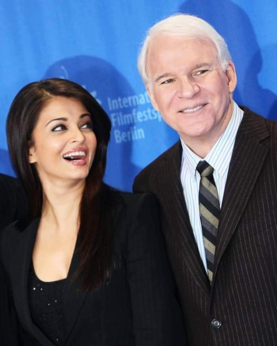 Aishwarya Rai Bachchan's Pink Panther co-star Steve Martin shares a heartfelt tweet wishing her good health