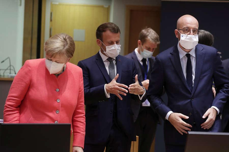 EU leaders hold summit over COVID-19