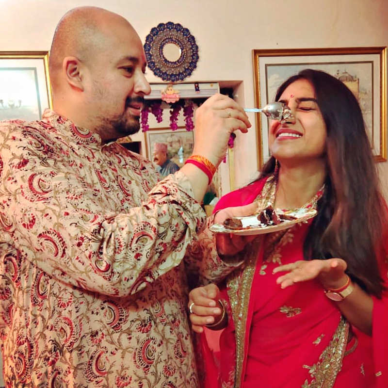 Yeh Rishta Kya Kehlata Hai actress Mohena Kumari Singh celebrates her first birthday post-wedding
