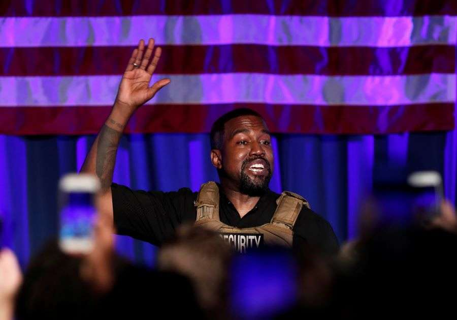 What was Kanye West's unconventional Presidential rally all about?