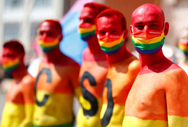 40 colourful pictures show Pride celebrations across the globe