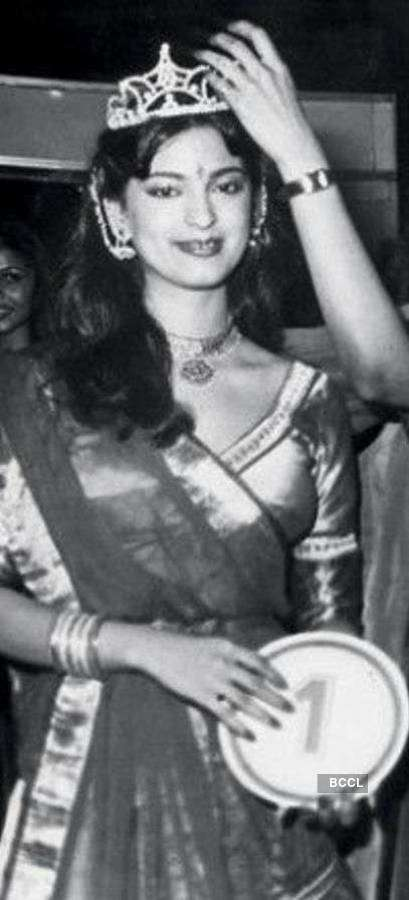 ​Rare pictures of Juhi Chawla from her pageant journey ​