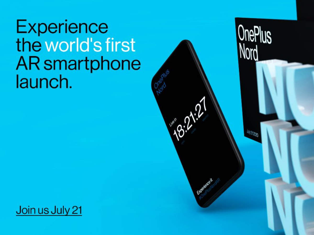 oneplus nord launch: How to watch OnePlus Nord launch event in Augmented Reality