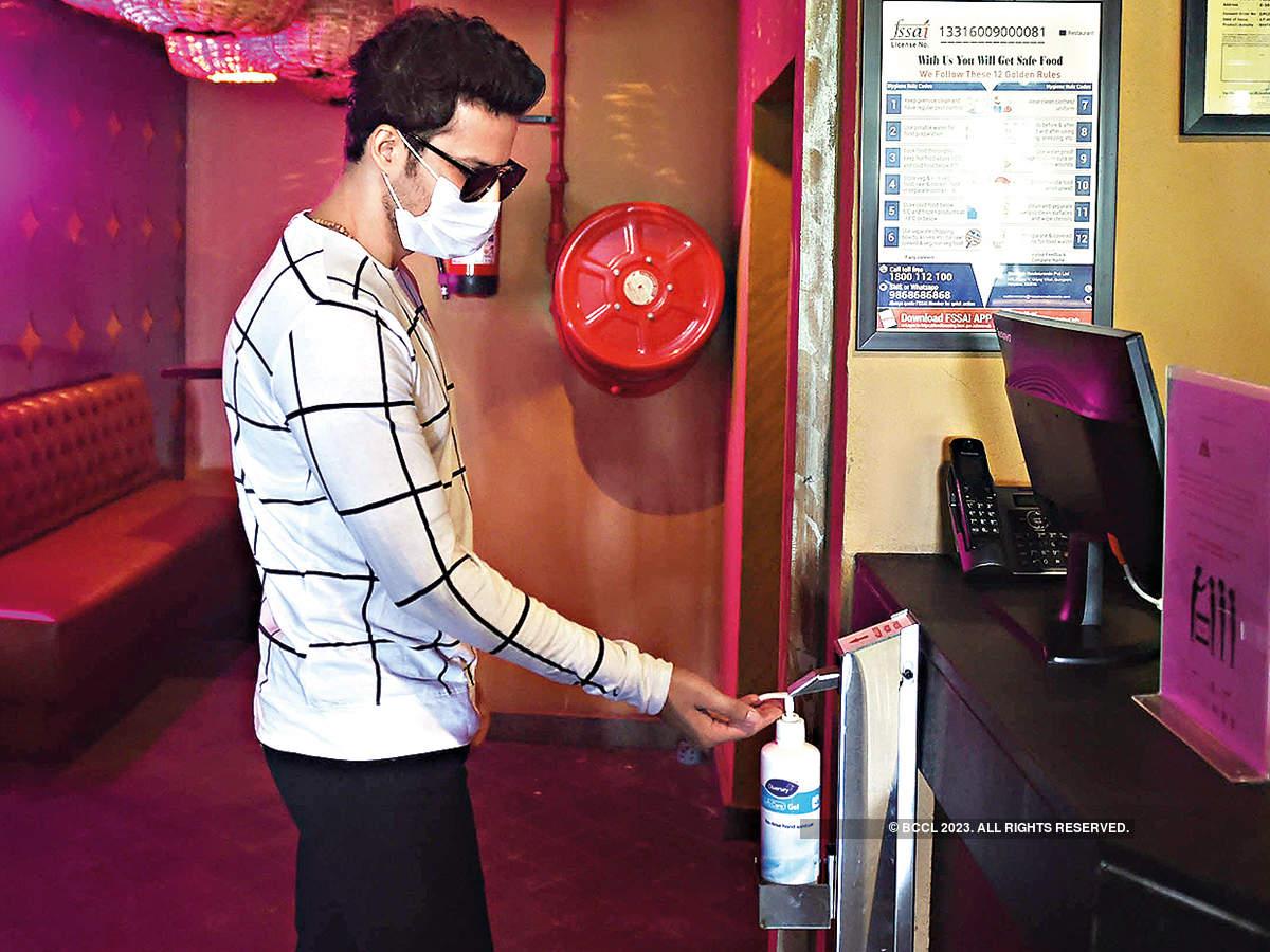 Mohit Malhotra at the eatery
