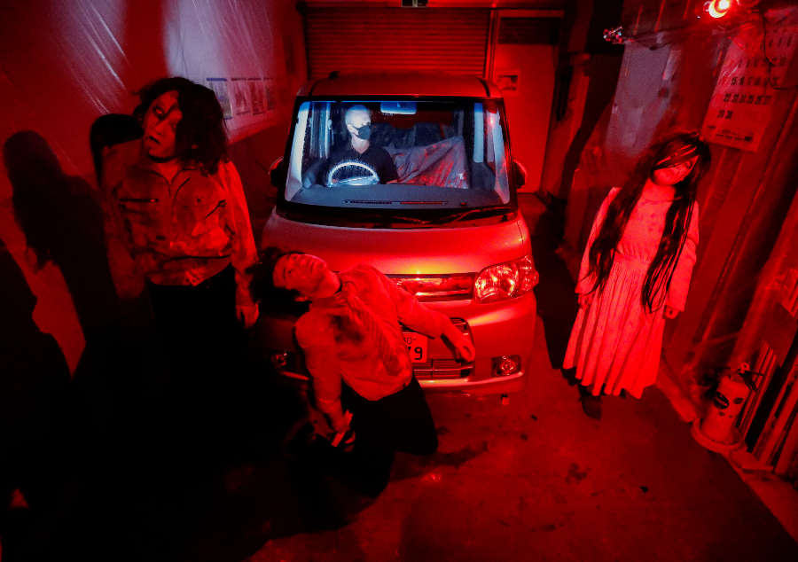 This drive-in horror show will leave you jumping off your seats