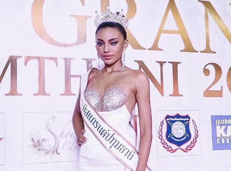 Indy Johnson to represent Pathum Thani at Miss Grand Thailand 2020
