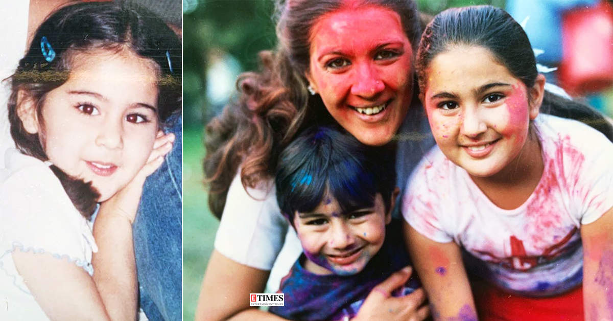 These adorable childhood pictures of Sara Ali Khan are too cute for words…