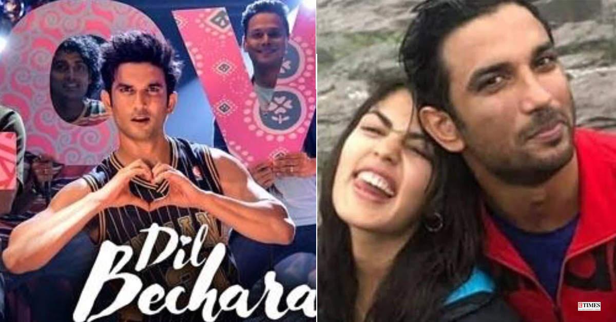 Rhea Chakraborty pens down an emotional post ahead of late actor-boyfriend Sushant Singh Rajput's 'Dil Bechara' release