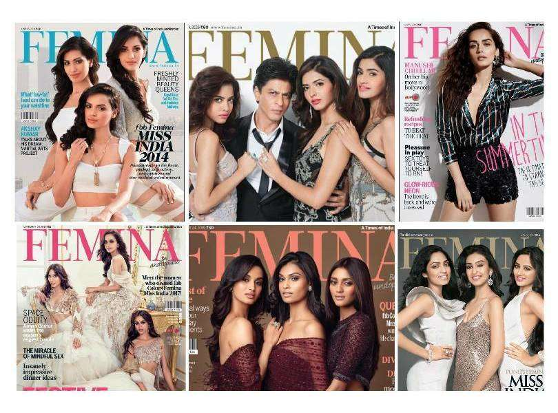FEMINA's most iconic covers featuring Former Miss India Winners