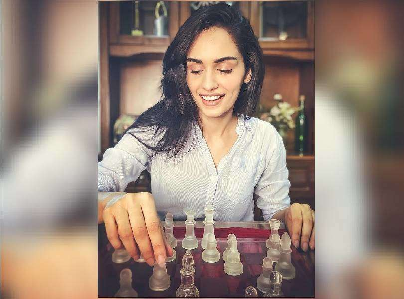 Manushi Chhillar shared that she inherits the competitive trait from her father