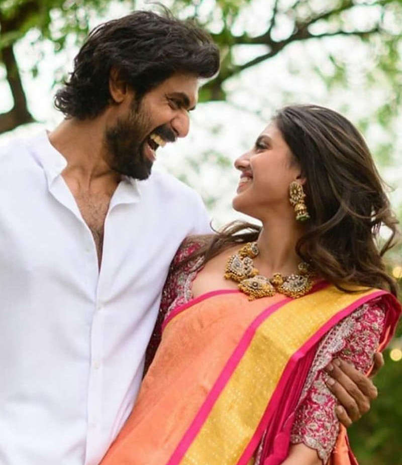 Even 3 km distance cannot stop these lovebirds Rana Daggubati and Miheeka Bajaj to spend quality time together