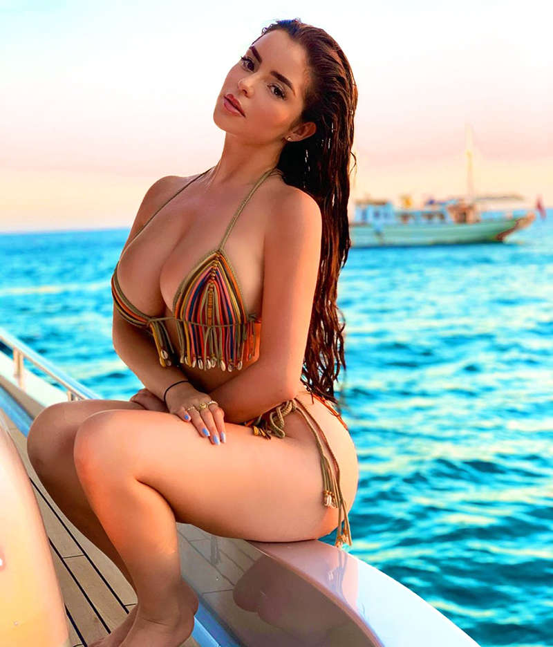 Instagram sensation Demi Rose shakes up the internet