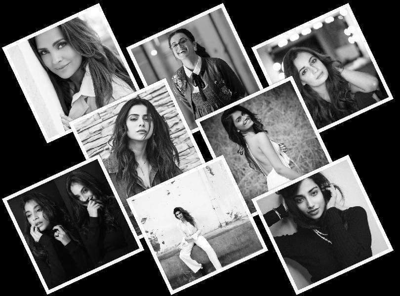 Beauty queens took the monochrome challenge to support women empowerment
