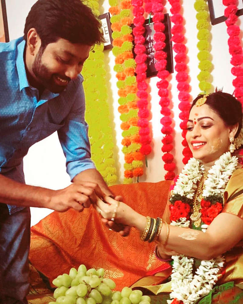 Tamil actress Anjali Rao welcomes a baby boy