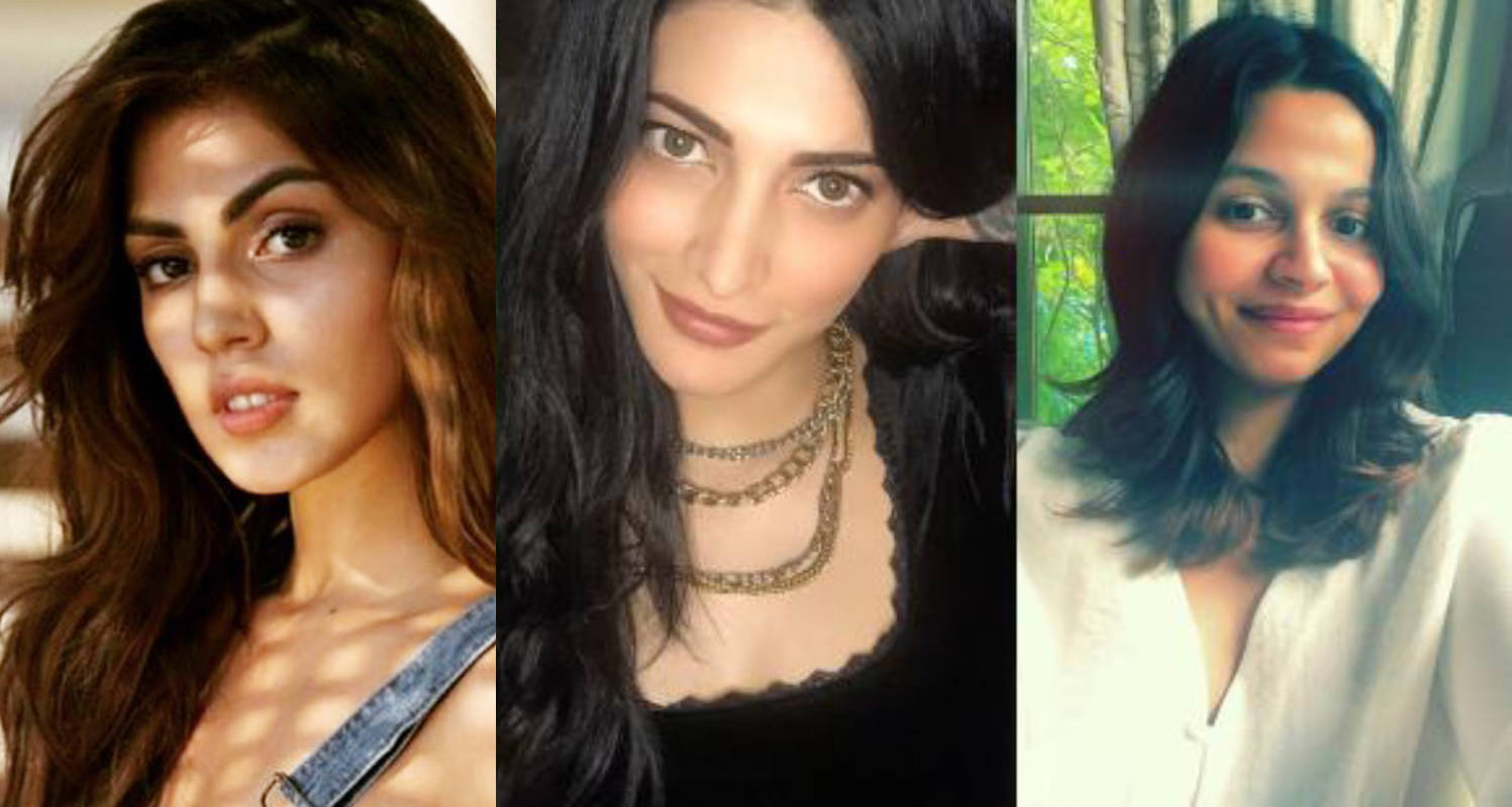 Shruti Haasan supports Rhea Chakraborty and Shaheen Bhatt's move against online threats