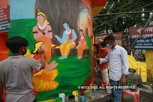 Ayodhya gears up for Ram Temple Bhoomi Poojan