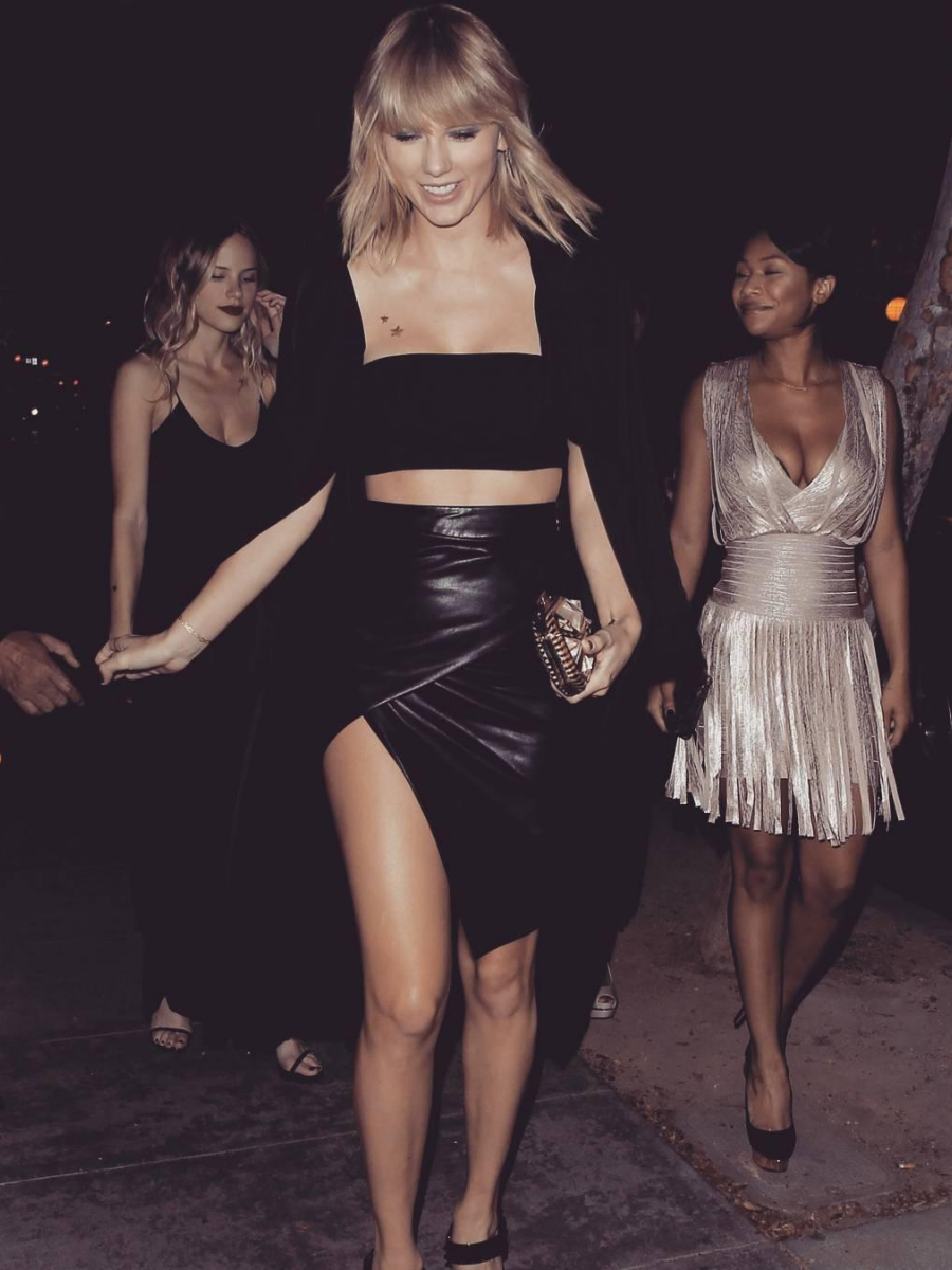 Queen of pop Taylor Swift slays street fashion with panache