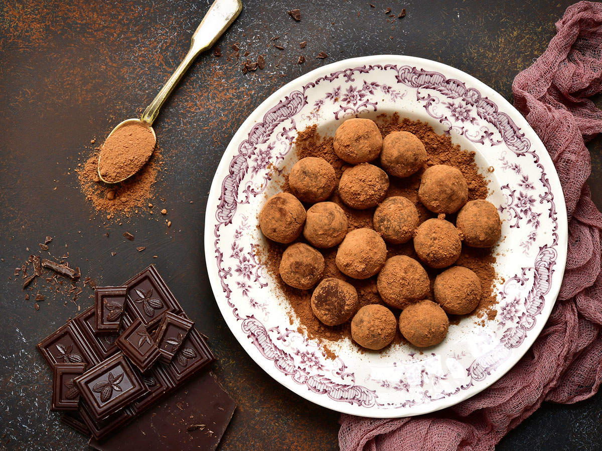 Homemade-chocolate-truffls