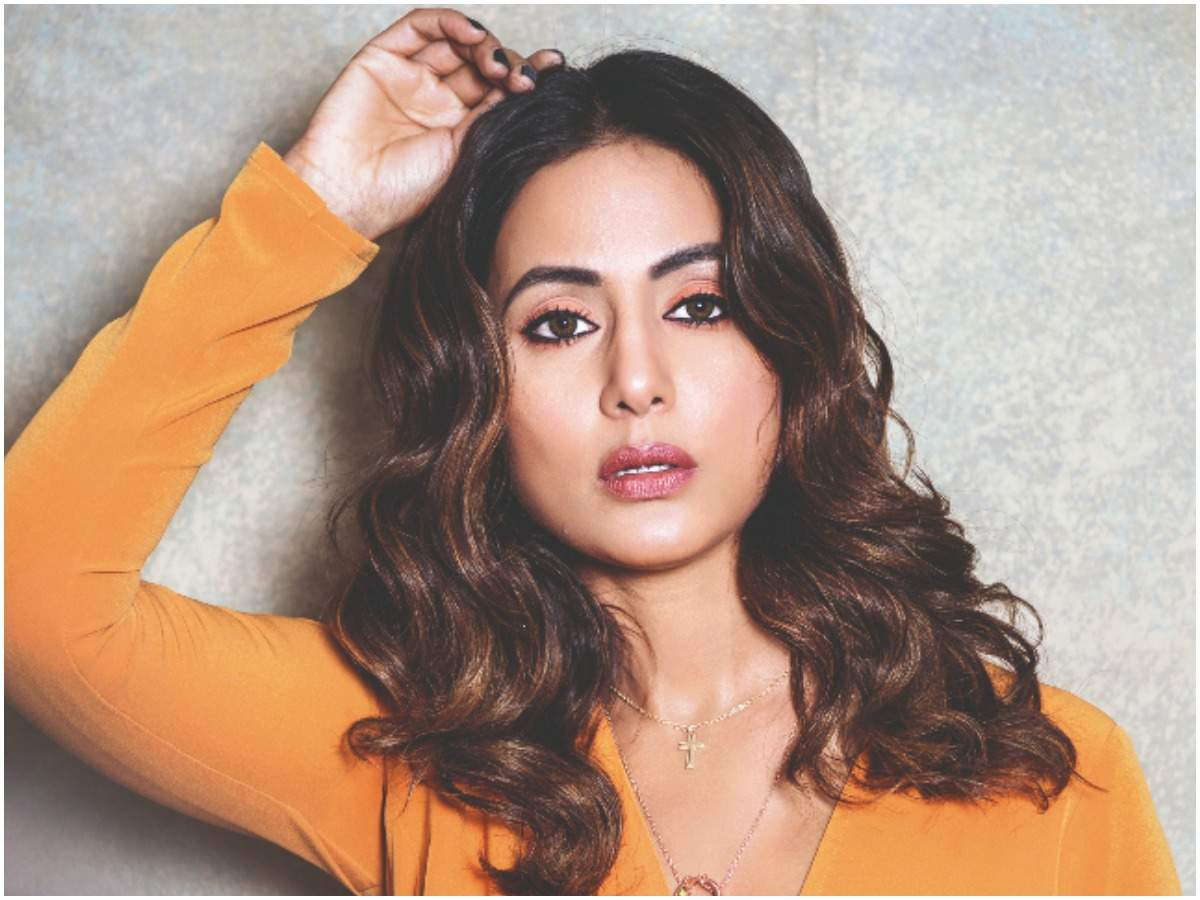 Hina Khan: Forget film roles, television actors aren't even considered when  it comes to donning a big designer's outfit - Times of India