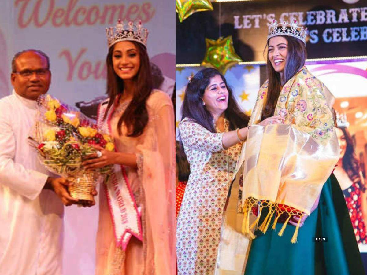Miss India winners who were felicitated for their achievements over the years