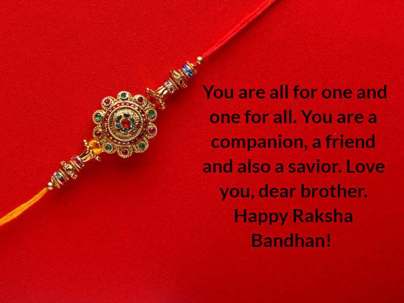 Happy Raksha Bandhan 2020: Rakhi Wishes, Messages, Status