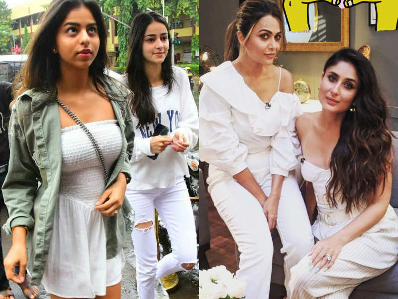 Friendship day 2020: From Kareena Kapoor Khan and Amrita Arora to Ananya Panday and Suhana Khan, these are the most stylish BFFs in Bollywood