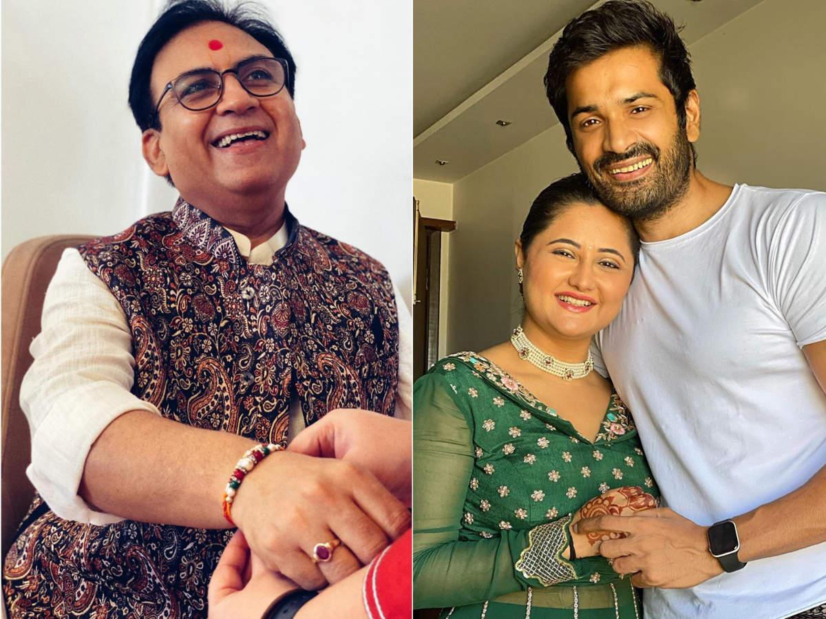 Taarak's Dilip Joshi to Bigg Boss 13's Rashami Desai; TV celebs celebrate Raksha Bandhan in a joyous manner