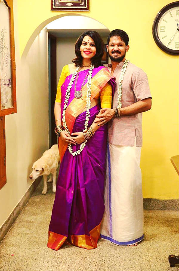 Tamil actor Nakkhul and wife Sruti welcome baby girl