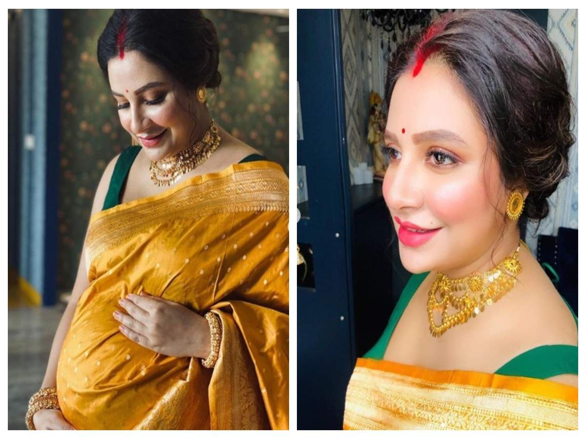 Mom-to-be Subhashree looks all radiant in these PICS