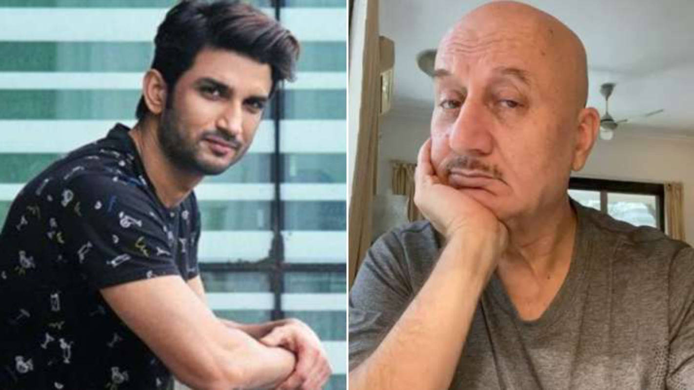 Anupam Kher comes out in support of SSR's case, says Sushant's family and fans deserve to know the truth