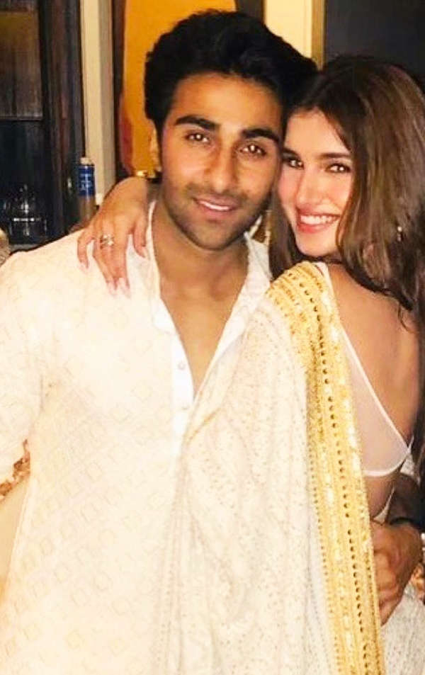 "Tara Sutaria makes her relationship official with Aadar Jain; he says ""I love you"""