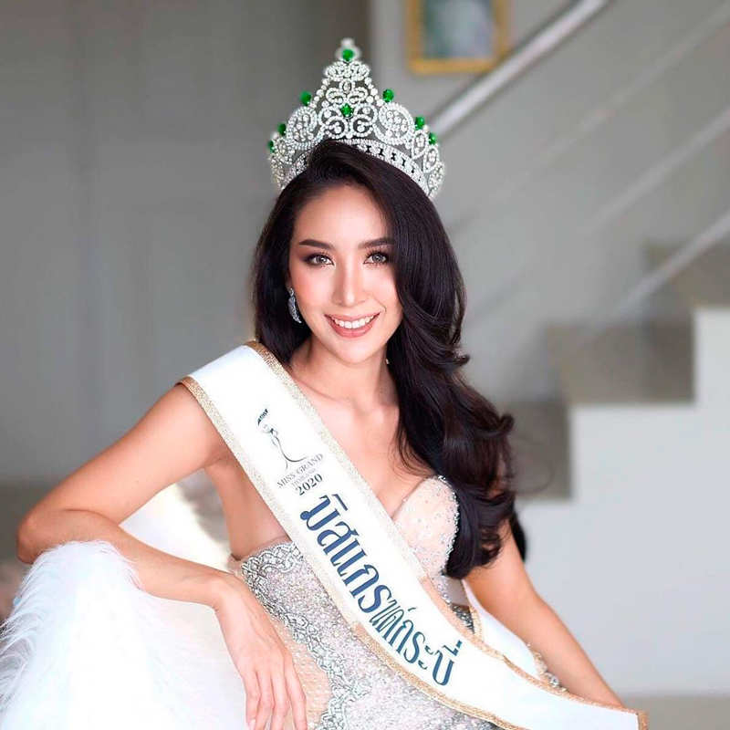 Janis Thansorn chosen as Miss Grand Krabi 2020