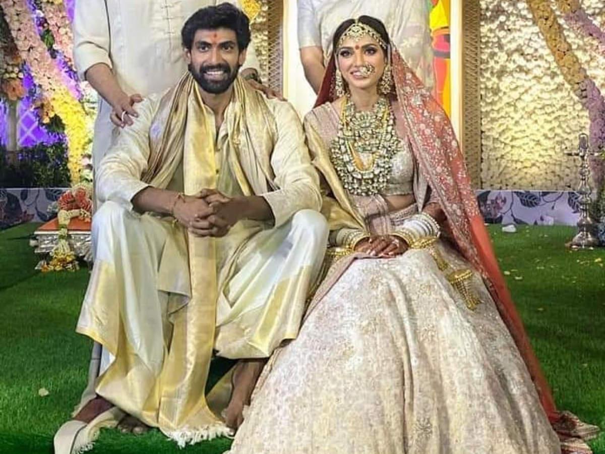 Photos Rana Daggubati And Miheeka Bajaj Set The Internet On Fire With Their Stylish Wedding Photos The Times Of India