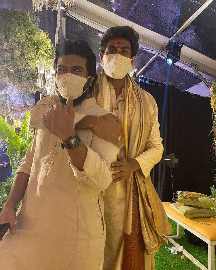 Rana and Charan.
