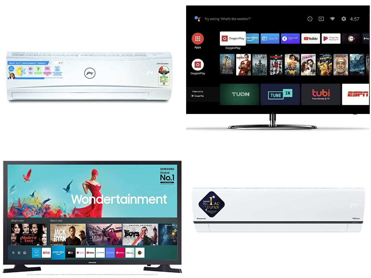 Amazon Sale: Deals on TVs from OnePlus, Samsung, TCL and split ACs from Voltas, Carrier and more