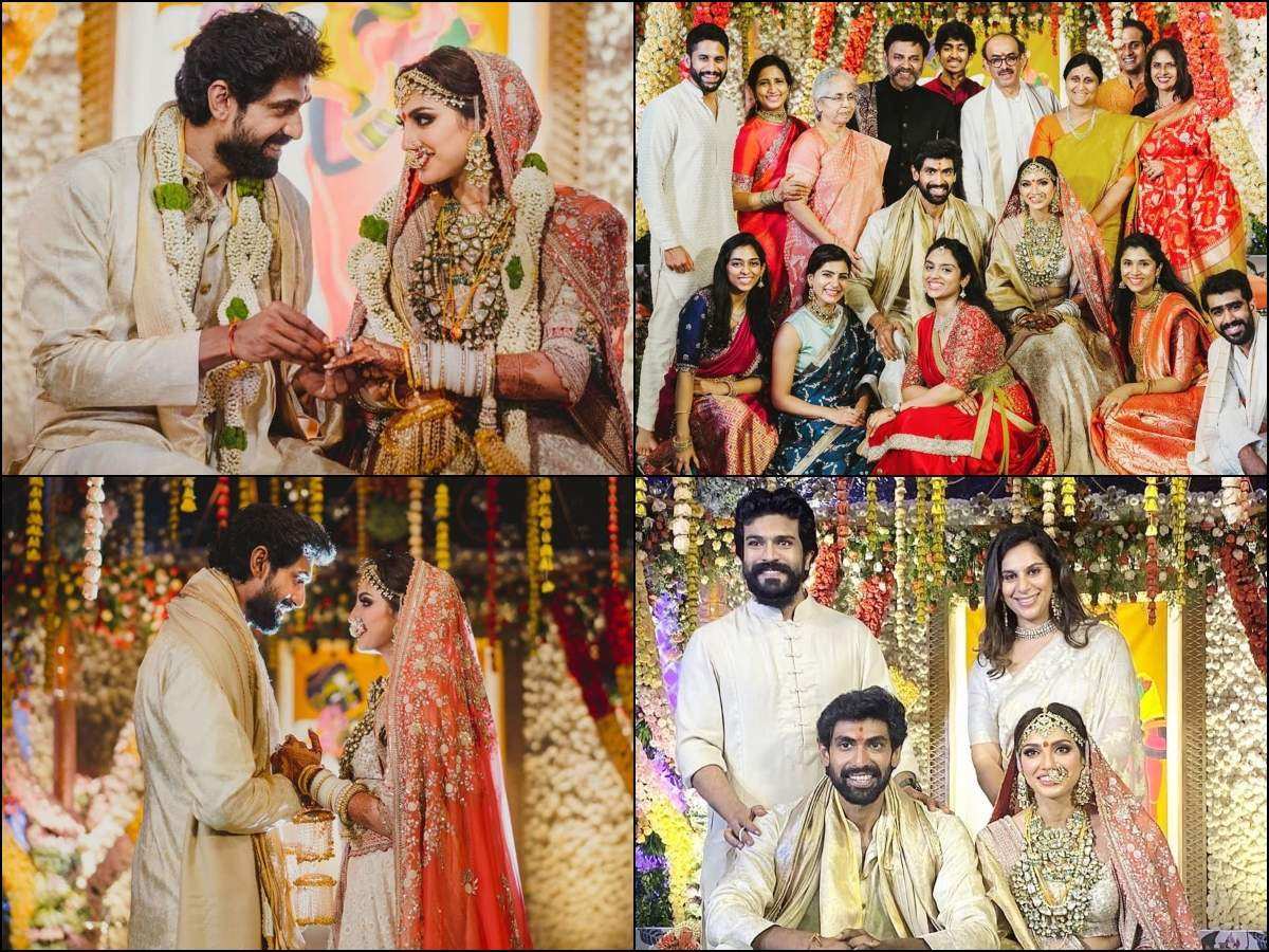 glimpse of the beautiful wedding of Rana and Miheeka