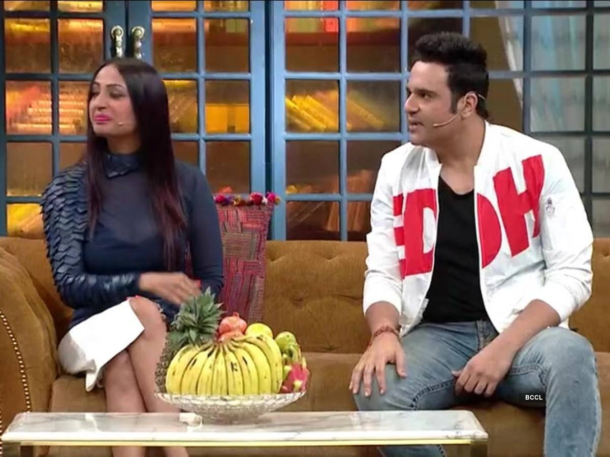 Kashmera and Krushna shares goofy secrets about their relationship