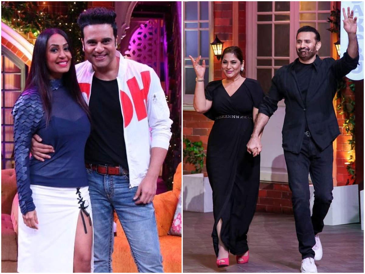 Kashmera Shah, Parmeet Sethi, Priyanka Sharda join their partners on The Kapil Sharma Show