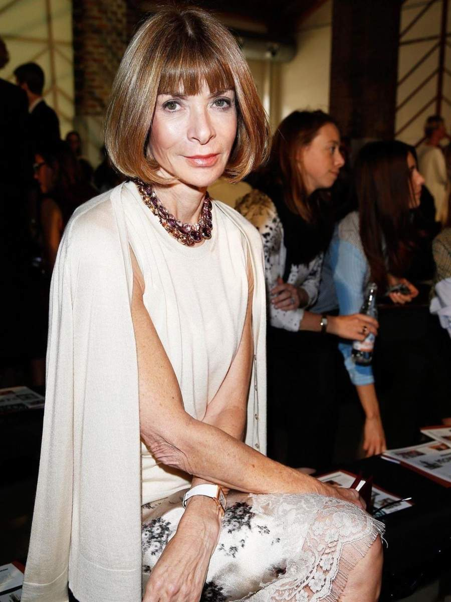 Fashion icon Anna Wintour's love for perfection goes beyond editorial