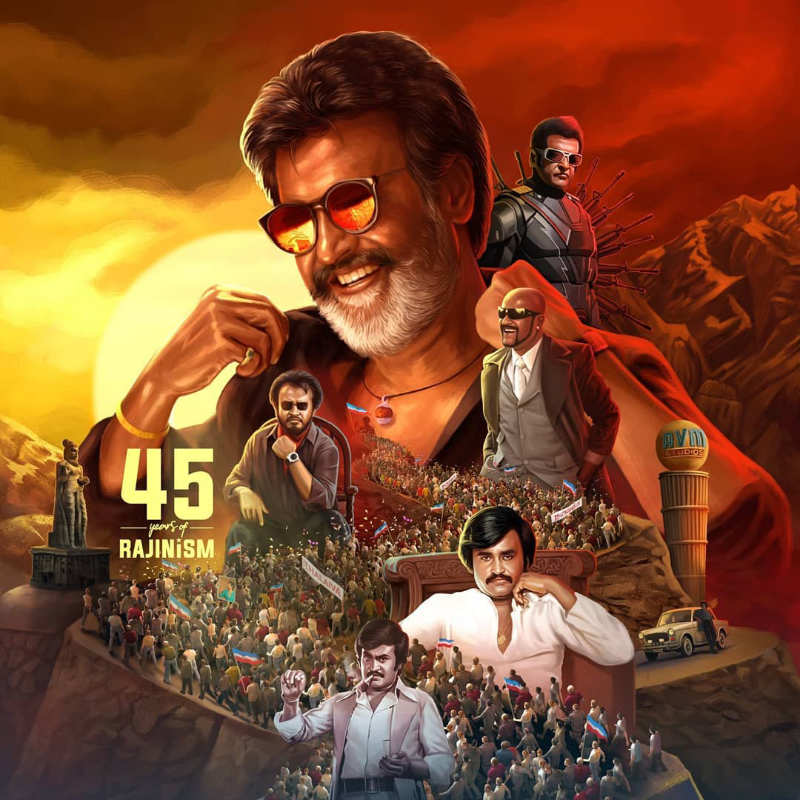 Superstar Rajinikanth thanks fans for celebrating '45 Years of Rajinism'
